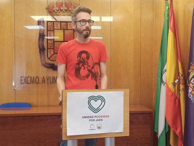 El portavoz en el Ayuntamiento de Unidas Podemos por Jaén