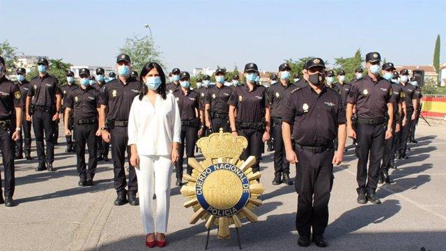 La Policía Nacional incrementa su plantilla en Granada y Motril con 57 policías-alumnos en prácticas