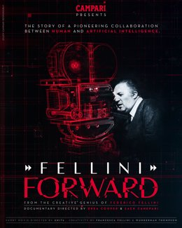 Campari announces Red Diaries 2021: Fellini Forward; a project set to explore the creative genius of Federico Fellini using Artificial Intelligence with an accompanying documentary telling the story of the pioneering project, launching at Venice Film Fest