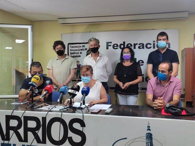 Entidades firmantes del recurso contecioso-administrativo contras las subvenciones del Ayuntamiento de Zaragoza a la educación concertada