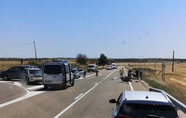 Accidente en Cañada del Hoyo