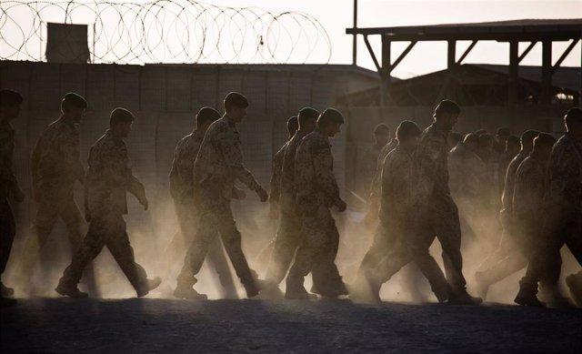 Archivo - Militares de Alemania desplegados en Afganistán