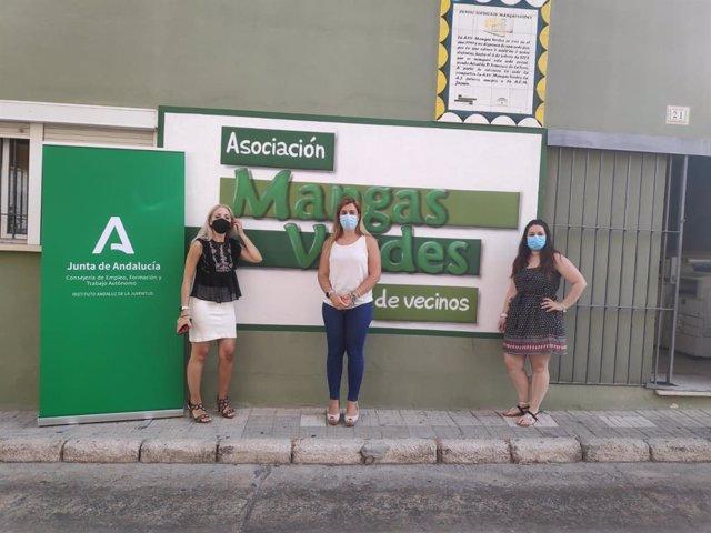 Reunión IAJ Málaga y Asociación Mangas Verdes