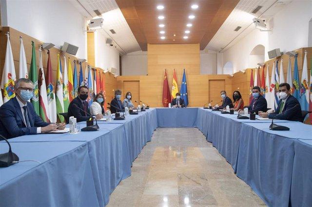 Imagen de la reunión del Consejo de Gobierno