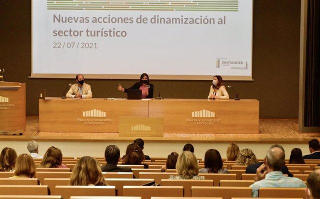 Presentación de la campaña de bonos turísticos de Santander