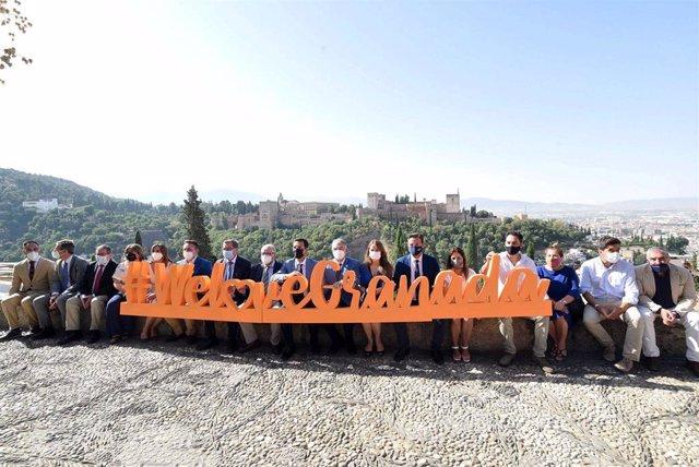 La Diputación de Granada, premio 'We love Granada' de la Federación de Empresas de Hostelería y Turismo