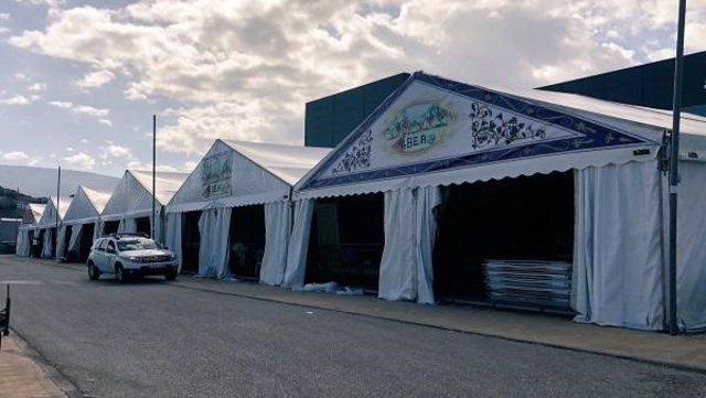 Archivo - Casetas de la Feria de San Lucas/ Archivo 2019