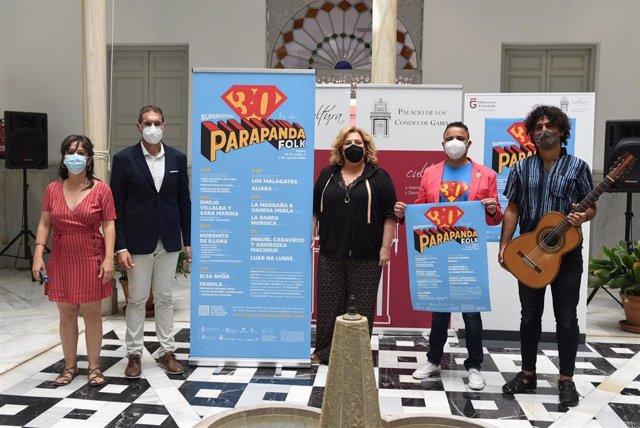 Presentación del festival de música Parapanda Folk