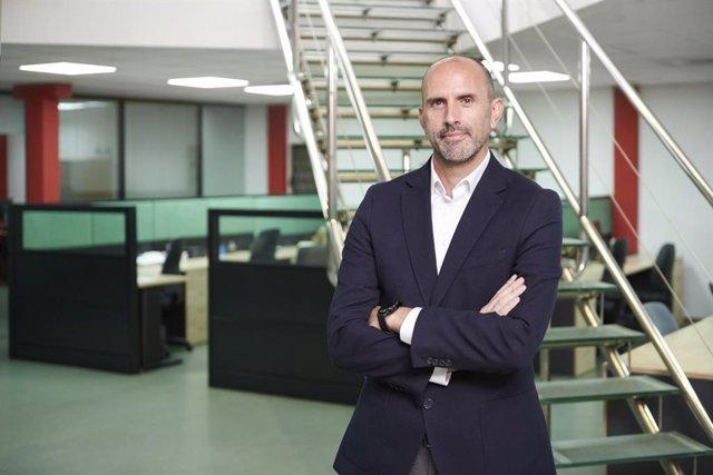 Jorge Torres, director general, en una de las sedes de Aitana