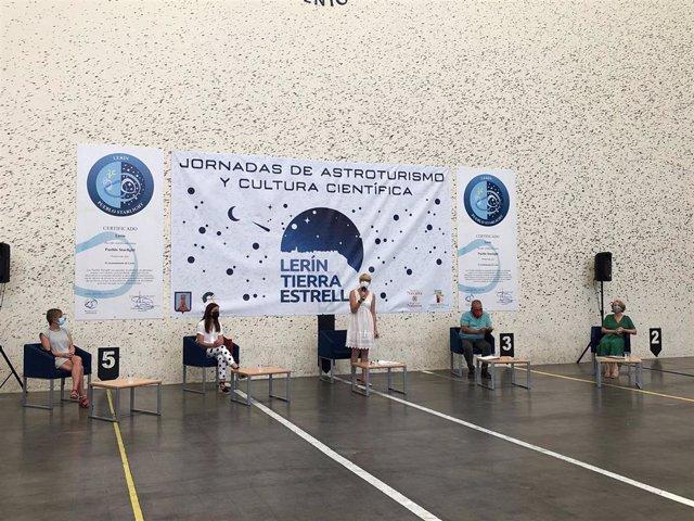 Acto de inauguración de las V Jornadas Lerín Tierra Estrella de Astroturismo y Turismo Científico