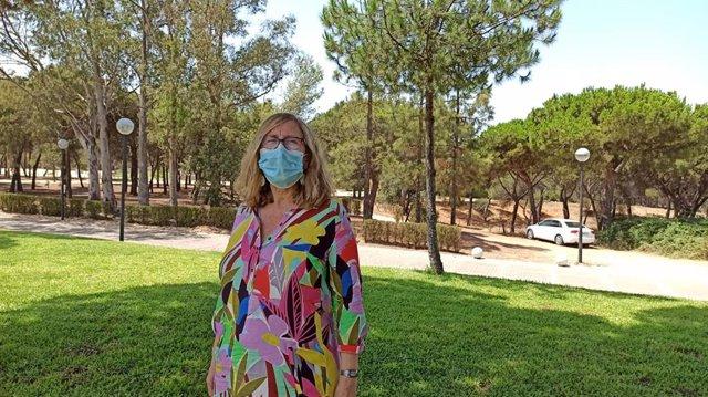 Ester Boixereu, geóloga especialista en Recursos Minerales en el Instituto Geológico y Minero de España.