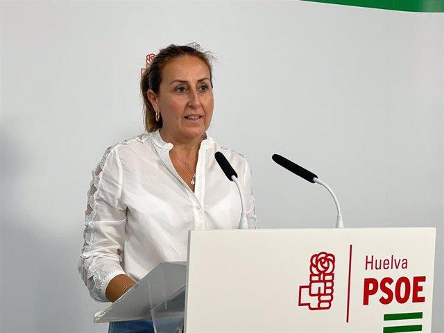 Archivo - La diputada nacional por Huelva Pilar Rodríguez.