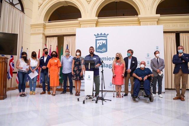 Conmemoración de las Víctimas de Delitos de Odio en el Ayuntamiento de Málaga