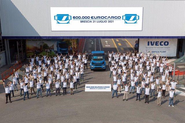 Iveco Eurocargo número 600.000 unidades.
