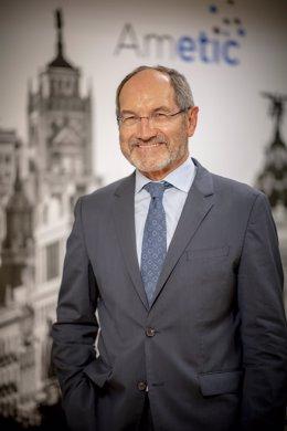 Archivo - Pedro Mier, presidente de Ametic