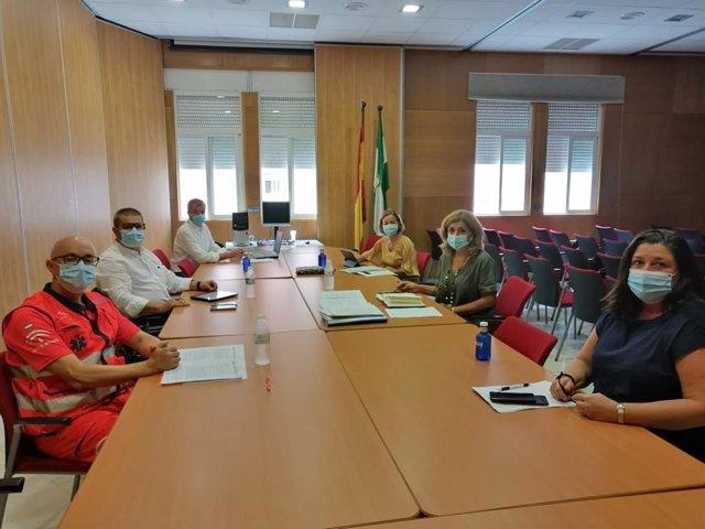 Archivo - Reunión del Comité Territorial de Alerta de Salud Pública de Alto Impacto de la provincia de Córdoba, en una imagen de archivo.