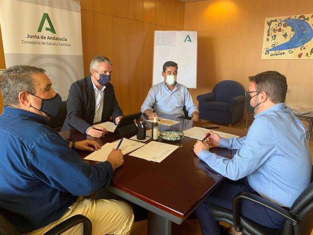 Reunión del Comité Territorial de Salud Pública en Almería