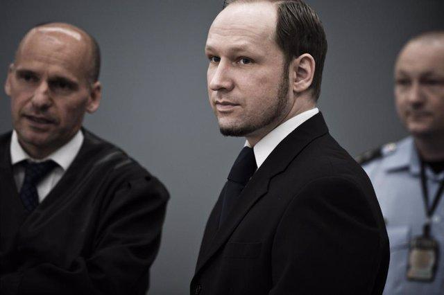 Archivo - Anders Behring Breivik, autor de la matanza de 77 personas en Oslo en 2011