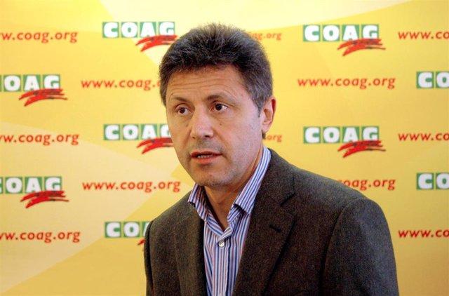 Archivo - Secretario general de COAG, Miguel Blanco