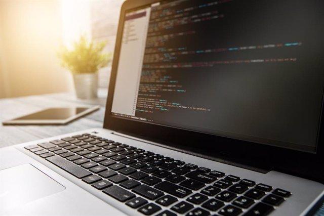 Archivo - Coding code program compute coder develop developer development