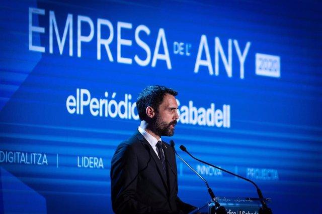 El conseller de Trabajo de la Generalitat, Roger Torrent.