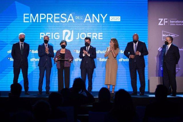 Entrega de los premios 'Empresa de l'Any 2020'