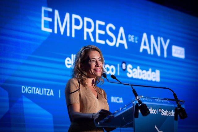 La ministra de Transports, Mobilitat i Agenda Urbana, Raquel Sánchez