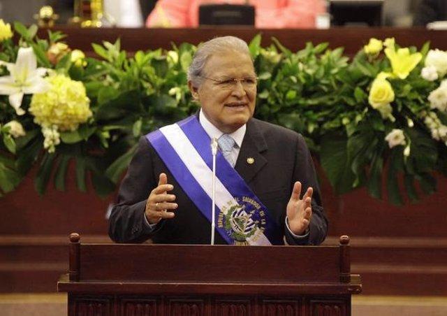 Archivo - Salvador Sánchez Cerén, expresidente de El Salvador.