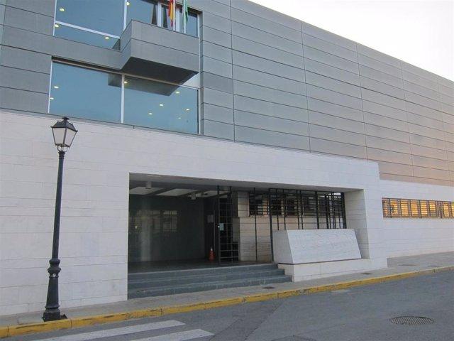 Archivo - Los juzgados de La Palma del Condado.