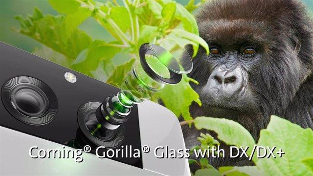 Gorilla Glass DX y DX+ para cámaras móviles