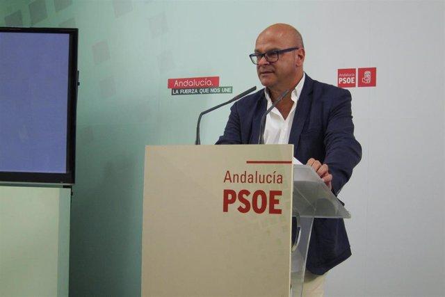 Archivo - El senador socialista por Jaén Manuel Fernández.