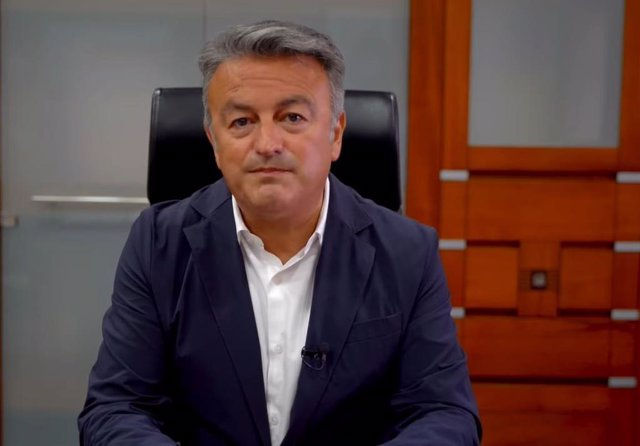 El alcalde de Xàbia, José Chulvi, en una foto de archivo