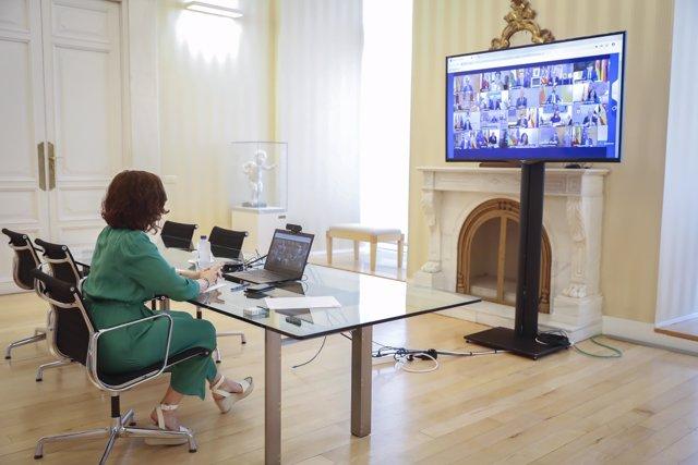 Isabel Díaz Ayuso en la Conferencia de Presidentes