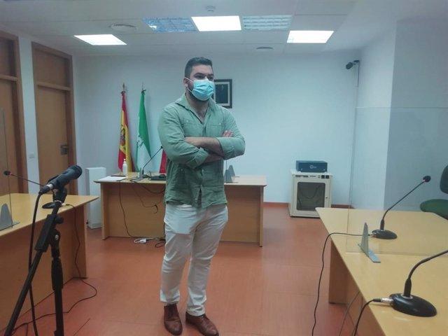 Miguel Rodríguez en los juzgados de violencia contra la mujer de Cádiz
