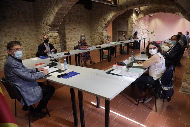 El Consell arranca el Seminari de Govern-Estiu 2021 en Albocàsser y Benassal