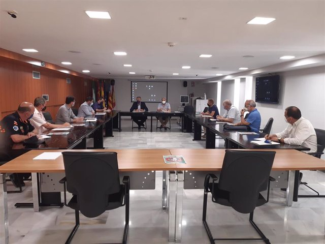 Reunión de Urrea con los alcaldes