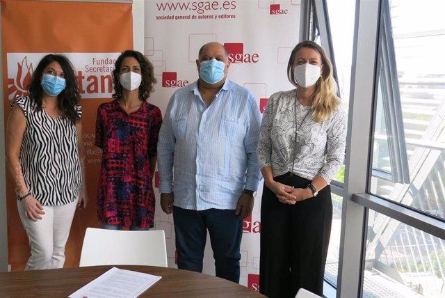 Acuerdo entre SGAE y Fundación Secretariado Gitano