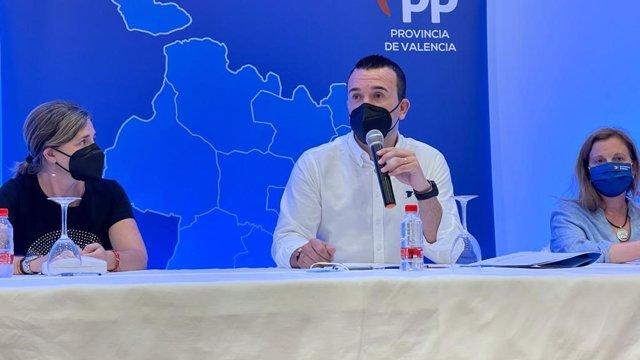 Comité ejecutivo provincial PP Valencia en Gandia