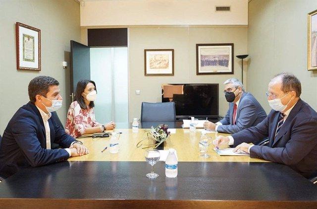 Reunión entre Ciudadanos (Cs) y la Confederación de Empresarios de Andalucía (CEA)