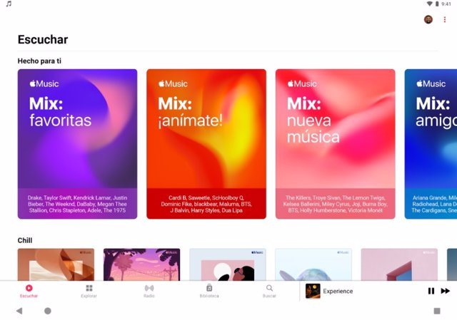 Apple Music para Android