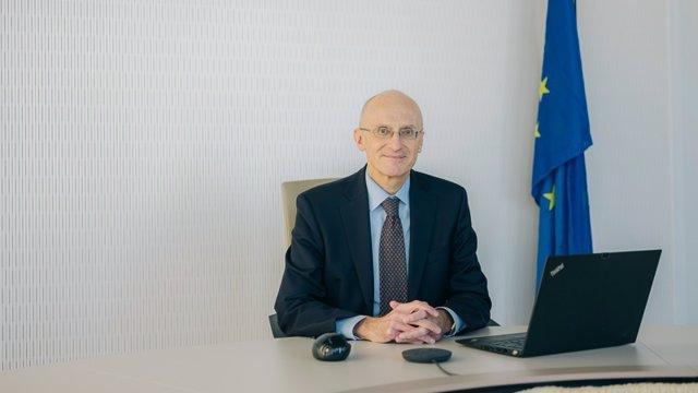 Archivo - El presidente del Consejo de Supervisión del BCE, Andrea Enria.