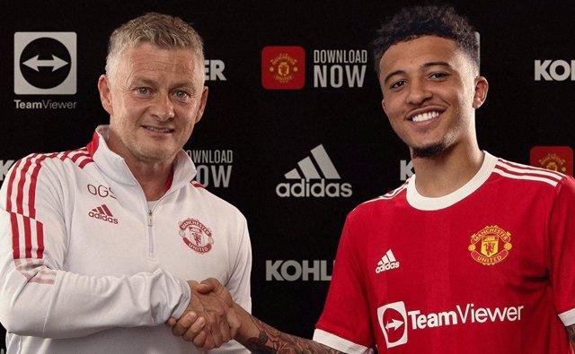 Jadon Sancho firma con el United hasta 2026