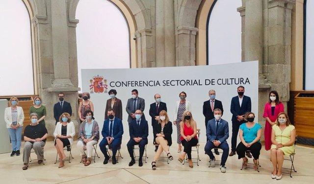El conselleiro de Cultura participa en la Conferencia Sectorial en Madrid