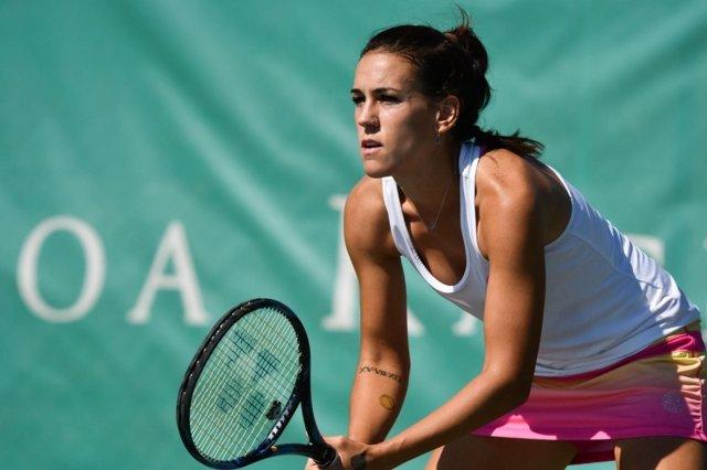 La tenista española Nuria Parrizas