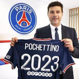 Mauricio Pochettino amplía su contrato con el PSG