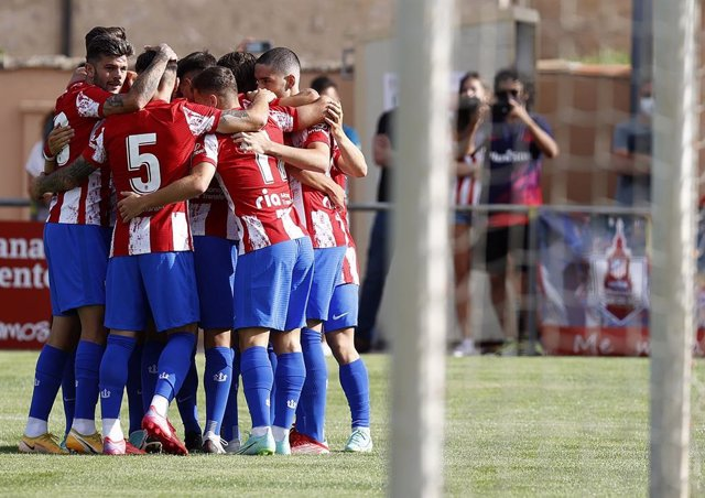 El Atlético de Madrid en el Memorial Jesús Gil y Gil