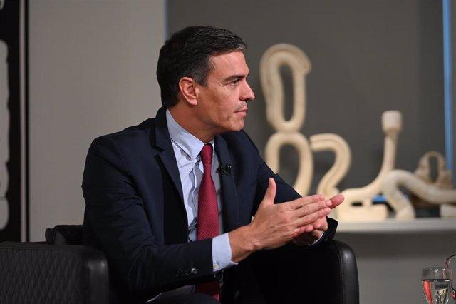 El presidente del Gobierno, Pedro Sánchez, en Estados Unidos
