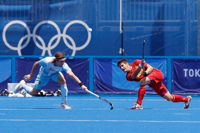 España no puede pasar del empate ante Argentina (1-1) en el arranque del torneo de hockey hierba en los Juegos Olímpicos de Tokyo 2020