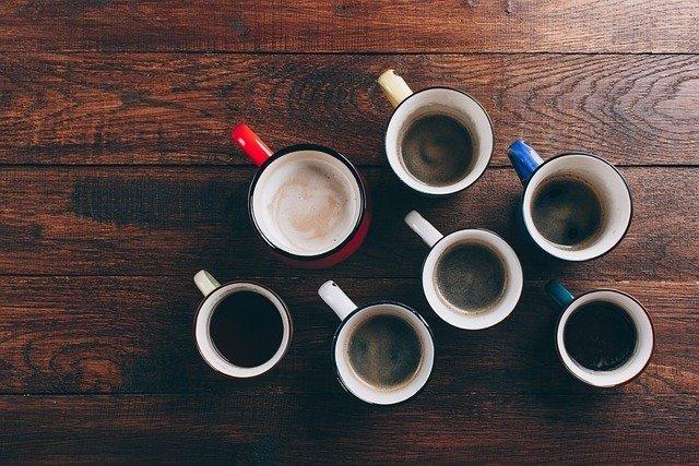 Archivo - Tazas de café.