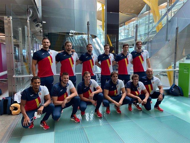 La selección española de waterpolo que participará en los Juegos Olímpicos de Tokyo 2020